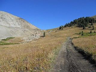 Napoleon Pass High mountain pass in Colorado, US