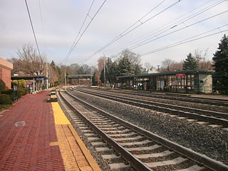 Narberth station (SEPTA) SEPTA Regional Rail station