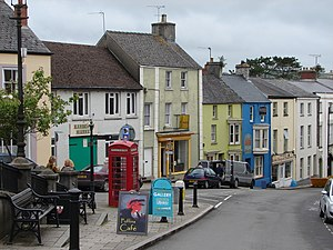 Narberth, Pembrokeshire - Image: Narberth town view (2009)