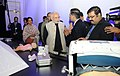 Narendra Modi's interaction with startups, VCs and angel investors, in New Delhi. The Union Minister for Finance, Corporate Affairs and Information & Broadcasting.jpg