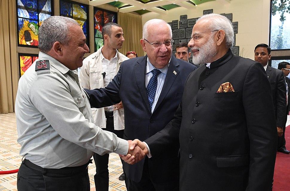 Narendra Modi visit to Israel, July 2017 (8563)
