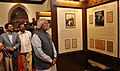Narendra Modi visiting the Bombay High Court Museum after inauguration, at Mumbai, in Maharashtra. The Governor of Maharashtra, Shri C. Vidyasagar Rao, the Union Minister for Law & Justice (1).jpg