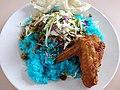 Nasi kerabu at PFC of UPM.jpg