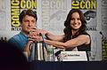 Nathan Fillion and Sarah Wayne Callies.jpg
