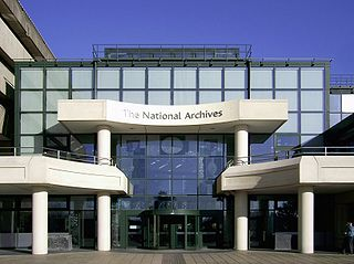 The National Archives (United Kingdom) repository of archival information for the United Kingdom