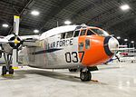 National Museum of the U.S. Air Force-Fairchild C-119J Flying Boxcar.jpg