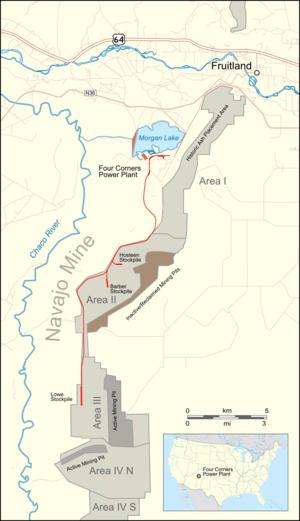 Navajo Mine Railroad - Navajo Mine Railroad, mining status as of 2016