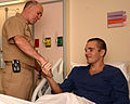 Navy surgeon general visits wounded Marines, Sailors 120913-N-UR169-008.jpg