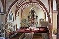 Nawa Główna w kościele św. Michała Archanioła w Sępopolu. - panoramio.jpg