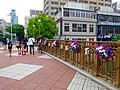 Nayabashi decorated with flowers at Horikawa flower festival - 1.jpg