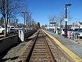 Needham Center station platform (2), March 2016.JPG