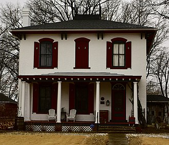 National Register of Historic Places listings in Cole County, Missouri - Image: Nelson C. And Gertrude A Burch House