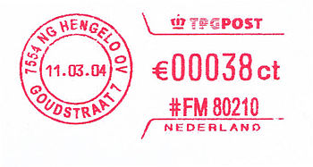 Netherlands stamp type QC4B.jpg