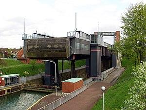 Henrichenburg boat lift - The new boat lift