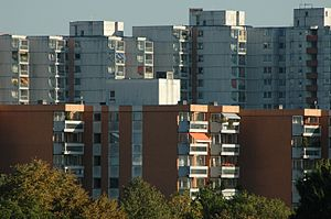 Plattenbau - West German Plattenbau in Munich-Neuperlach