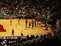 Nevada Wolf Pack vs. Montana Grizzlies, First Round, NCAA Men's Basketball Tournament, Huntsman Center, University of Utah, Salt Lake City, Utah (114272305).jpg