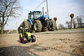 New Holland Ford tractor, Claas toy tractor.jpg