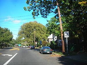 New Jersey Route 63 - Route 63 northbound in Ridgefield