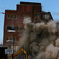 Newcastle Brewery demolition, 22 June 2008.jpg