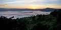 Ngorongoro Crater at dawn from Serena Lodge.jpg