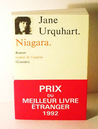 Jane Urquhart - Niagara (French publication of The Whirlpool) by Jane Urquhart