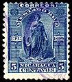 Nicaragua 1899 Sc113 used.jpg