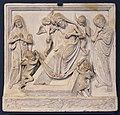 Niccolò di giovanni fiorentino, sepoltura di cristo con maria e giovanni dolenti, venezia 1460-70 ca.jpg