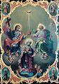 Nicolae Grigorescu - Manastirea Caldarusani - Sfanta treime si incoronarea Fecioarei.jpg