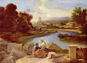 Landscape with St Matthew and the Angel