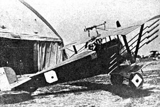 Nieuport 11 - Nieuport 16 with Le Prieur rockets