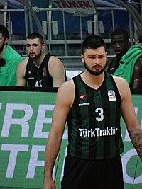 Nikola Janković (basketball) 3 Sakarya Büyükşehir Belediyespor 20180107.jpg