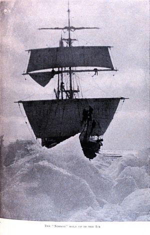 Nimrod (ship) - Image: Nimrodheldupinice