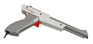 Duck Hunt - The NES Zapper is required for playing Duck Hunt.