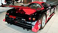 Nissan R390 GT1 (1997) rear-right 2012 Nissan Global Headquarters Gallery.jpg