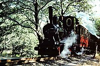 No 6 Douglas departd Dolgoch Station Talyllyn station '76 (32099146123).jpg