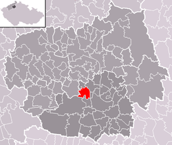 Location of Nové Dvory