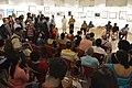 Nrisingha Prasad Bhaduri Addresses - Group Exhibition Inauguration - PAD - Kolkata 2016-07-29 5340.JPG