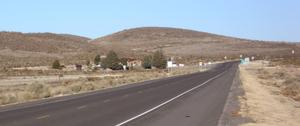 Nutt, New Mexico - Nutt, New Mexico, January 2013, looking NE