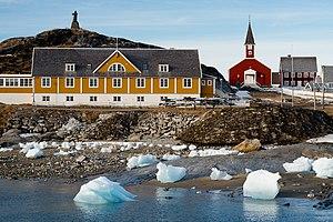 Statue of Hans Egede - Image: Nuuk (2013)