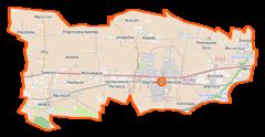 Plan gminy Ożarów Mazowiecki