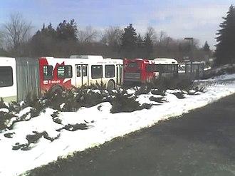 Dominion station - Image: OC Transpo Dominion Station, February 2007