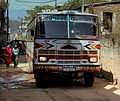 OFF ROAD EXPRESS TATA BUS NEAR THE MONKEY TEMPLE KATHMANDU NEPAL FEB 2013 (8544455605).jpg