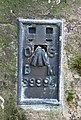 OS bench mark - geograph.org.uk - 1614115.jpg