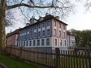 House of Seckendorff - Blaues und Rotes Schloss (Blue and Red Castles) Obernzenn