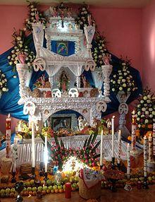 Altar De Muertos Wikipedia La Enciclopedia Libre