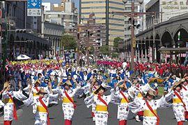 Ohara festival in Kagoshima