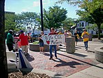 Ohio Union Activists Demonstrate at John McCain Event in Lima, Aug. 7 (2754365971).jpg