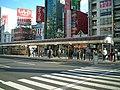 Okaden Okayamaekimae eki.JPG