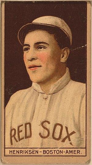 Olaf Henriksen - Image: Olaf Henriksen baseball card