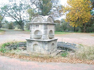 Standerton - Memorial to those who died in concentration camps during the Boer war.